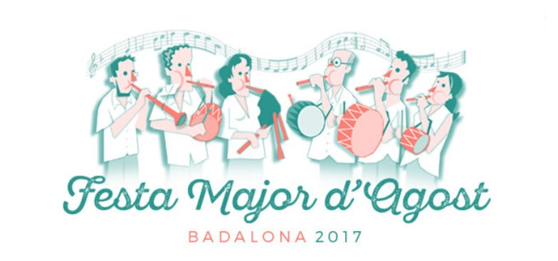 festa major agost 2017 badalona